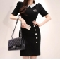Wholesale Fashion dress K6103