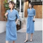 Wholesale Fashion denim dress A20851
