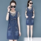 Wholesale Fashion 2-piece set denim dress A20853