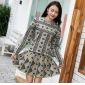 Wholesale Fashion 2-piece set knit dress A21114