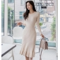 Wholesale Fashion knit dress K6694
