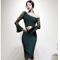 Wholesale Fashio dress K6837
