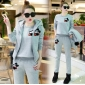 Wholesale Fashion 3-piece set tracksuit T11028