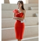 Wholesale Fashion dress K7138