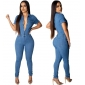 Wholesale Fashion denim jumpsuit A21879