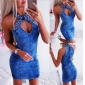 Wholesale Fashion denim dress A21885
