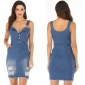 Wholesale Fashion denim dress A21886